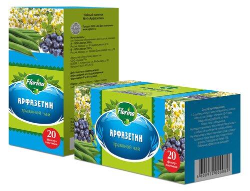 Травяной чай №4 «Арфазетин»