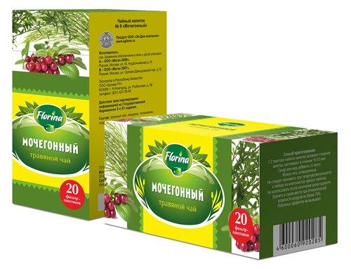 Травяной чай №9 «Мочегонный»